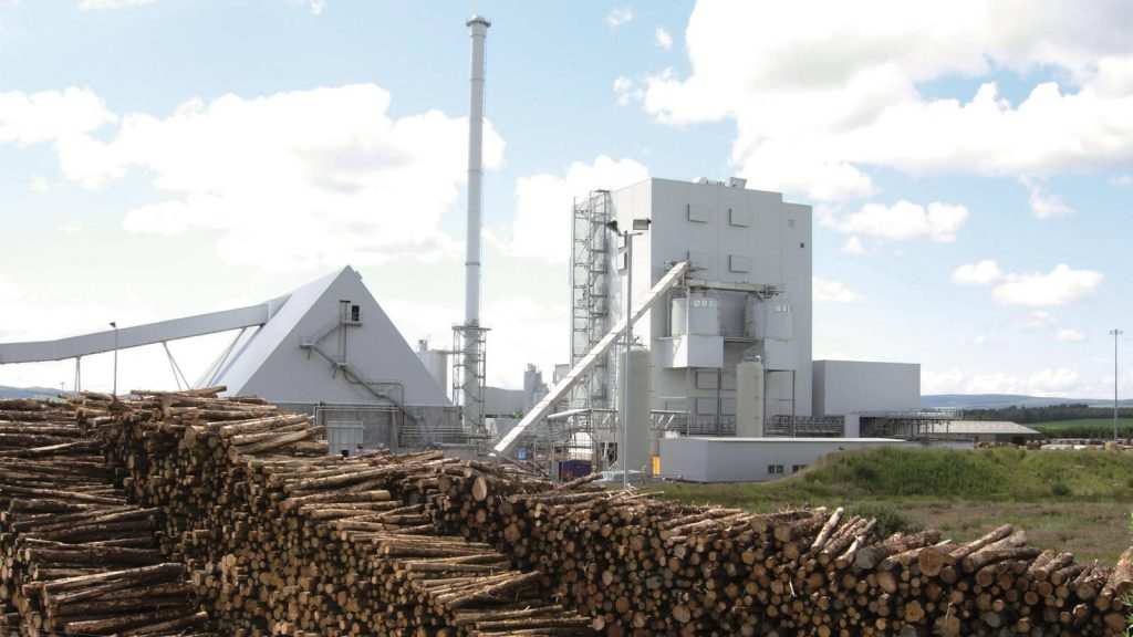 Steven's Croft biomass power station, Lockerbie